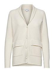 Shawl Collar Jacket - WHITE