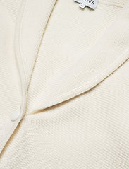 Davida Cashmere - Shawl Collar Jacket - cardigans - white - 2