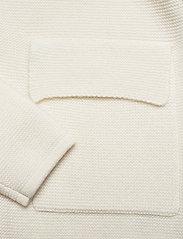 Davida Cashmere - Shawl Collar Jacket - cardigans - white - 3