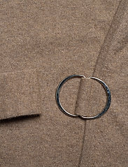 Davida Cashmere - Side Belt Cardigan - cardigans - mink - 3