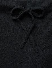Davida Cashmere - Pants - wide leg trousers - black - 3