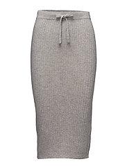 Mid Skirt - LIGHT GREY