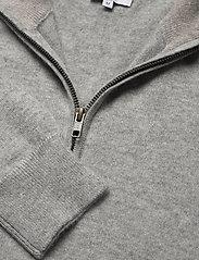 Davida Cashmere - Man Half Zip - half zip - light grey - 3