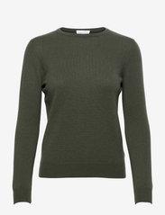 Basic sweater - ARMY GREEN