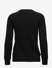 Davida Cashmere - Basic sweater - sweaters - black - 2