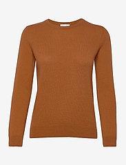 Basic sweater - DARK RUST
