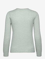 Davida Cashmere - Basic sweater - jumpers - light green - 1