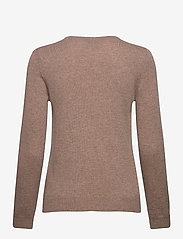 Davida Cashmere - Basic sweater - sweaters - mink - 2