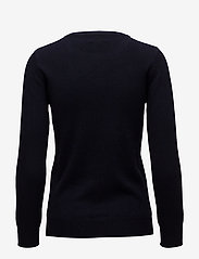 Davida Cashmere - Basic Sweater - sweaters - navy - 2