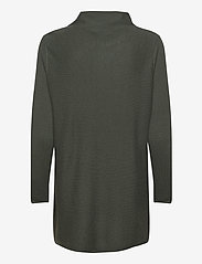Davida Cashmere - Turtleneck Oversized - cashmere - army green - 1