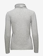 Davida Cashmere - Loose Turtleneck - cashmere - light grey - 1