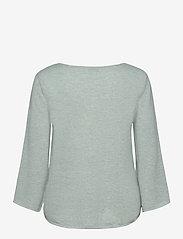 Davida Cashmere - Quarter Wide Sleeve Sweater - jumpers - light green - 1