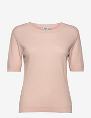 Davida Cashmere - T-shirt Oversized - gebreide t-shirts - light pink - 1