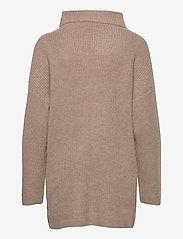 Davida Cashmere - Oversized Rib Sweater - cashmere - mink - 1