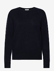 Davida Cashmere - Dotted Sweater - sweaters - navy - 0