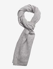 Davida Cashmere - Rectangular Scarf - scarves - light grey - 0
