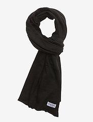 Davida Cashmere - Big Classic Scarf - scarves - black - 1