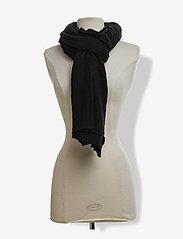 Davida Cashmere - Big Classic Scarf - scarves - black - 2