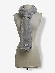 Davida Cashmere - Big Classic Scarf - scarves - light grey - 2