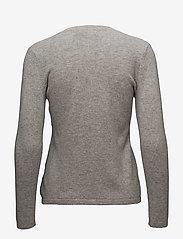 Davida Cashmere - Classic Cardigan - cardigans - light grey - 1