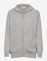 Davida Cashmere - Hoodie - sweatshirts & hoodies - light grey - 1