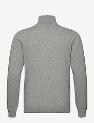 Davida Cashmere - Man Half Zip - half zip - light grey - 2