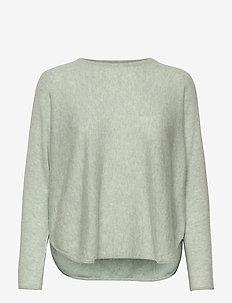 Curved Sweater - tröjor - light green