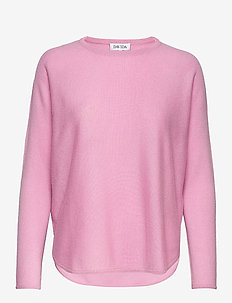 Curved Sweater - PINK
