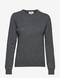 Basic sweater - DARK GREY