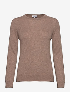 Basic sweater - jumpers - mink