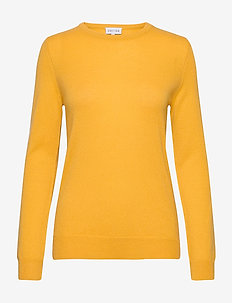 Basic sweater - jumpers - yellow