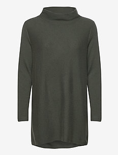 Turtleneck Oversized - pologenser - army green