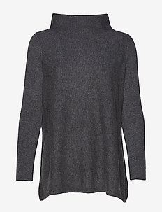 Turtleneck oversized - DARK GREY