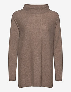 Turtleneck Oversized - pologenser - mink