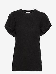 T-shirt Flounce - BLACK