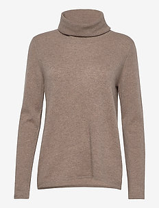 Loose Turtleneck - pologenser - mink
