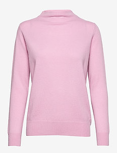 Funnel Neck Sweater - PINK