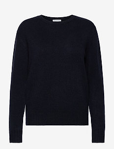 Dotted Sweater - sweaters - navy