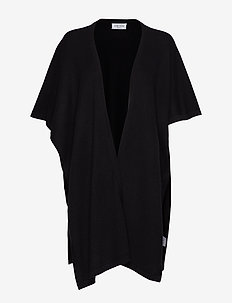 Open Poncho - BLACK
