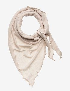 Triangle Scarf - sjalar & halsdukar - light beige
