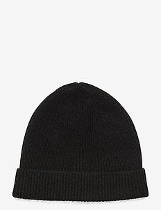 Cap Rib - czapka - black