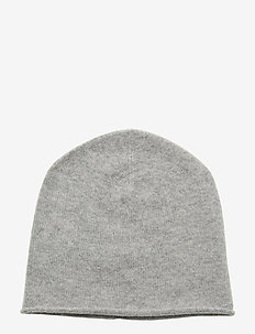 Raw Edge Cap - LIGHT GREY