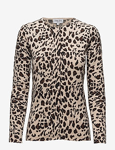 Classic Cardigan Leopard - ANIMAL LIGHT