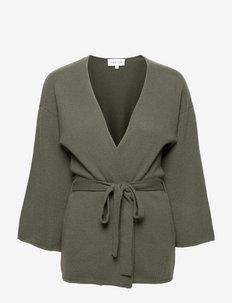 Kimono - neuletakit - army green