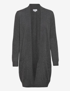 Pocket Long Cardigan - cardigans - dark grey