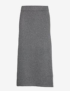 A-line Skirt - DARK GREY