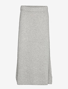 A-line Skirt - LIGHT GREY