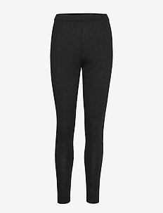 Panel Leggings - leggings - black