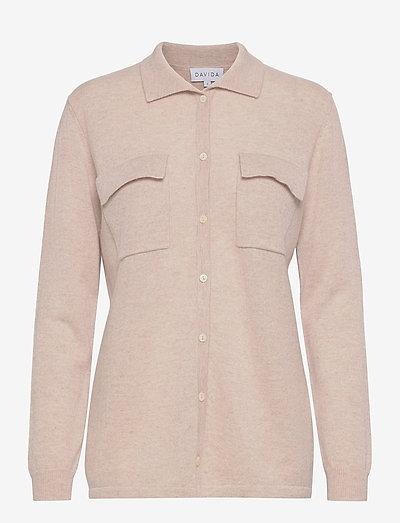 Classic Pocket Shirt - denim shirts - light beige