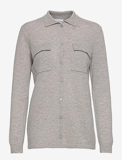 Classic Pocket Shirt - denim shirts - light grey